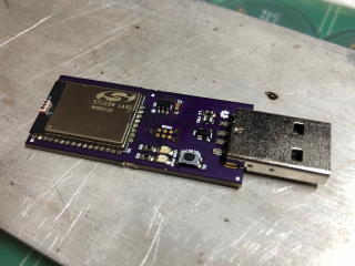 WGM110 USB dongle prototype